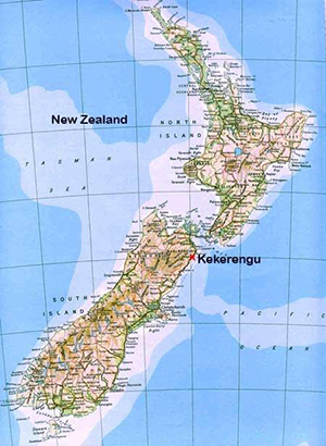 Kekerengu Cottage Boutique Accommodation Kaikoura New Zealand - New zealand latitude